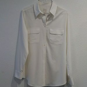 Tops - CHICO'S Long Sleeve Blouse Size 1